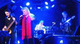 Avec Julien Raffin sax, Philippe Leroux batterie et Philippe Mouton basse