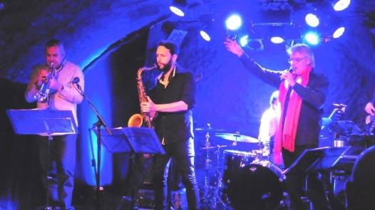 Avec Philippe Slominski, trompette, Julien Raffin, Sax