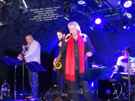 Avec Philippe Slominski trompette, Julien Raffin, saxophone, Philippe Leroux batterie