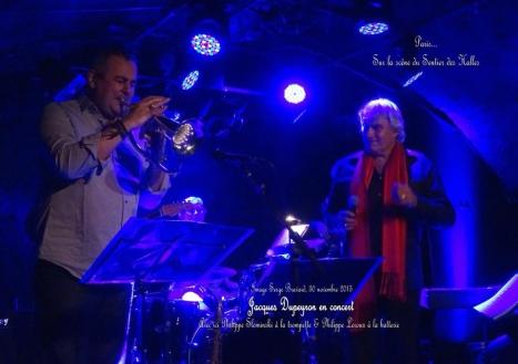 Avec Philippe Slominski, trompette